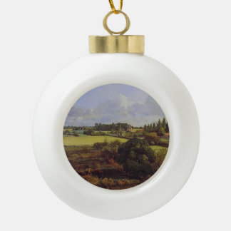John Constable- Golding Constable's Kitchen Garden Ceramic Ball Christmas Ornament