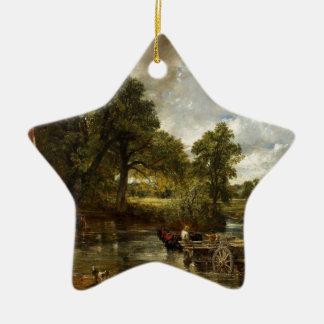 John Constable Hay Wain Christmas Ornament