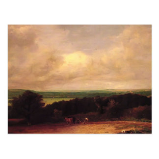 John Constable- Landscape Ploughing In Suffolk Postcards
