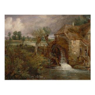 John Constable - Parham Mill, Gillingham Postcard