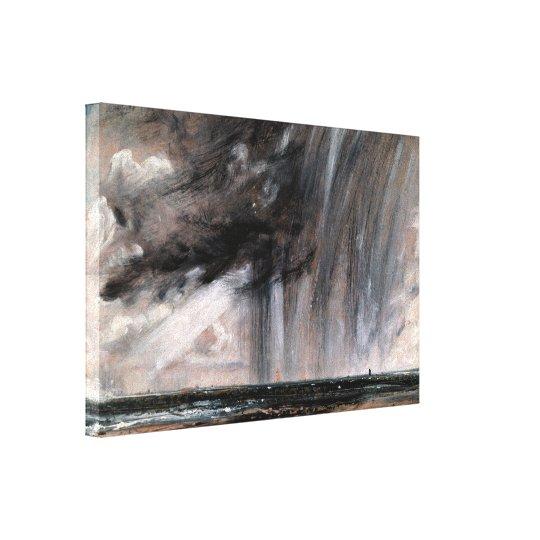 John Constable - Seascape Study with Rain Cloud