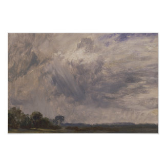 John Constable - Study of a Cloudy Sky Poster