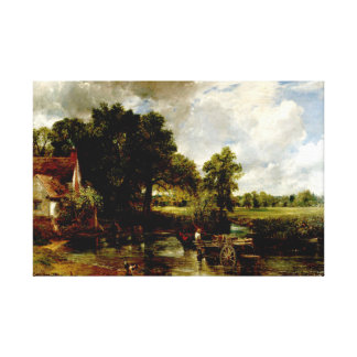 John Constable The Hay Wain Oil on-Canvas Painting Stretched Canvas Prints