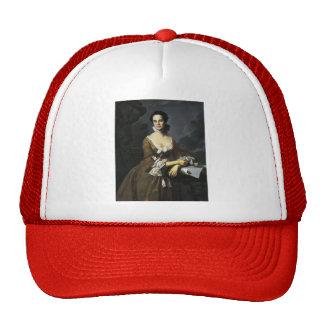 John Copley- Mrs.Daniel Hubbard (Mary Greene) Hats
