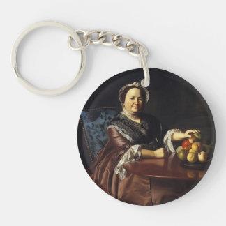 John Copley- Mrs.Ezekiel Gondthwait Acrylic Key Chain