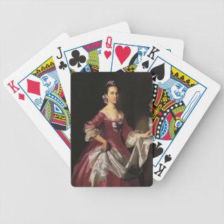 John Copley- Mrs George Watson Elizabeth Oliver Poker Cards