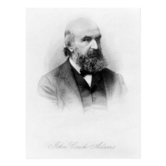 John Couch Adams, engraved by George J. Stodart Postcard