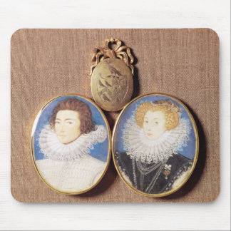 John Croker and his wife Frances Mouse Mat