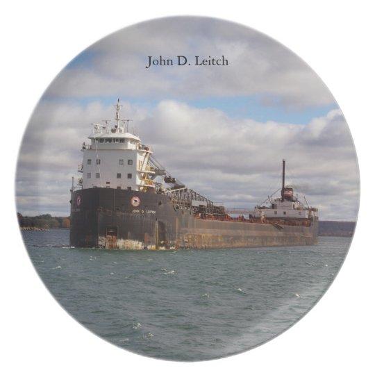John D. Leitch plate