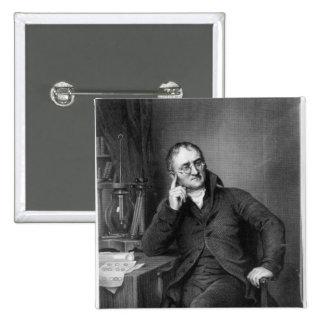 John Dalton 15 Cm Square Badge