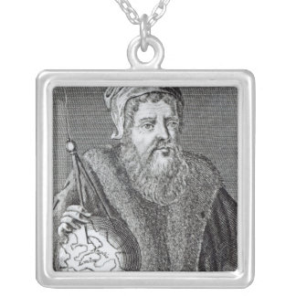 John Dee  a Londoner Silver Plated Necklace