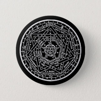 John Dee Tablet 6 Cm Round Badge