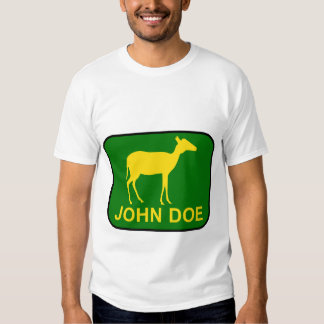 John Doe T Shirts
