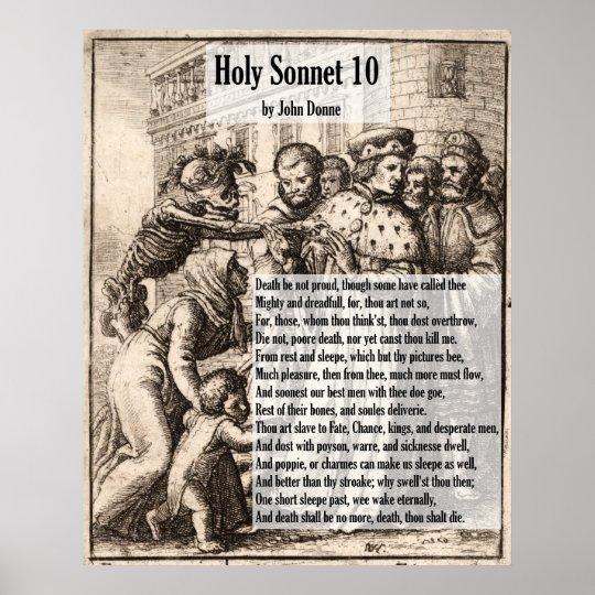 John Donne Death, Be Not Proud/Holy Sonnet 10