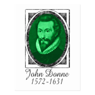 John Donne Postcard
