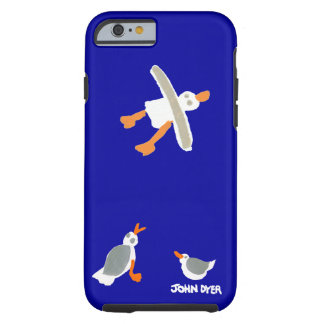 John Dyer iPhone Case Seagulls Cornwall