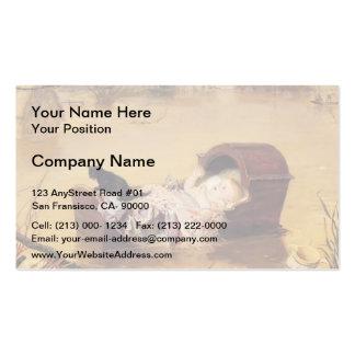 John Everett Millais- A flood Business Card