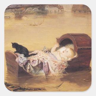 John Everett Millais- A flood Sticker