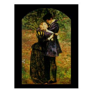 John Everett Millais Isabella Huguenot Postcard