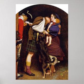 John Everett Millais Order of Release Poster