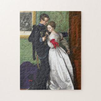 John Everett Millais The Black Brunswicker Puzzle