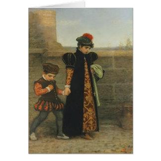 John Everett Millais- The Girlhood of St. Teresa Greeting Card