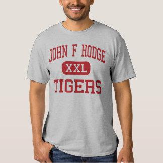 John F Hodge - Tigers - High - Saint James T-shirt