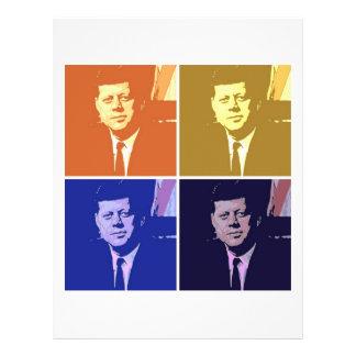 John F Kennedy 21.5 Cm X 28 Cm Flyer