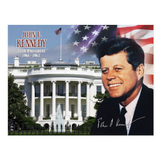 John F. Kennedy - 35th President of the U.S. Postcard