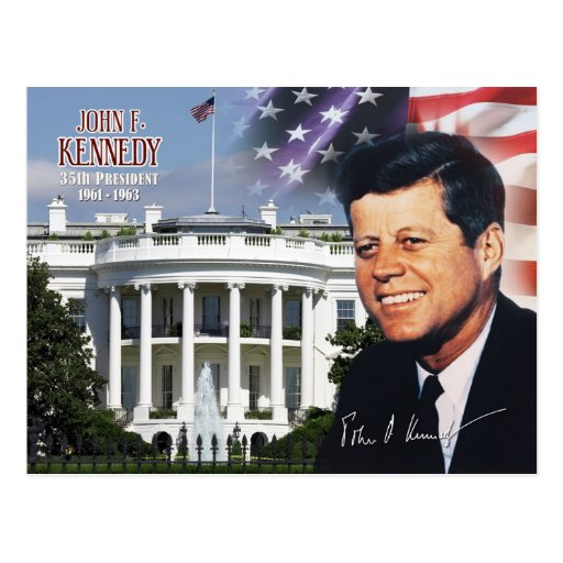 John F. Kennedy - 35th President of the U.S. Postcards