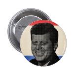 John F Kennedy 6 Cm Round Badge