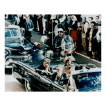 John F Kennedy and Jackie in the Motorcade Dallas Poster