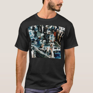 John F Kennedy and Jackie in the Motorcade Dallas T-Shirt