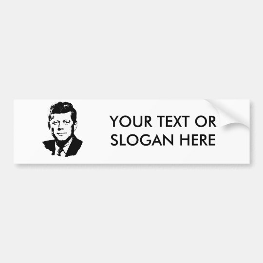John F. Kennedy Bumper Sticker