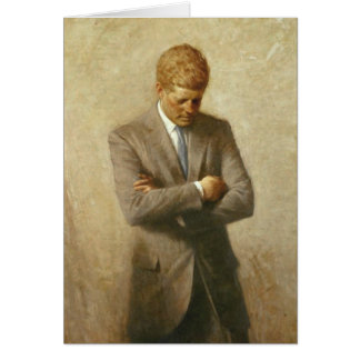 John F Kennedy Greeting Card