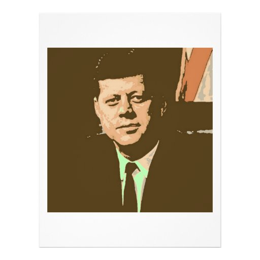 John F Kennedy Full Color Flyer