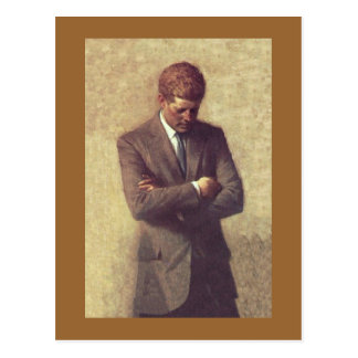 John_F_Kennedy_Official_Portrait Postcards
