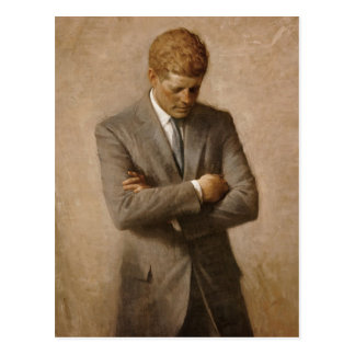 John F. Kennedy Official White House Portrait Postcard