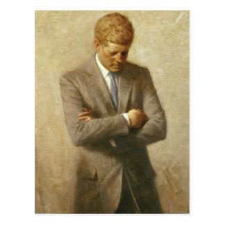 John F Kennedy Post Card