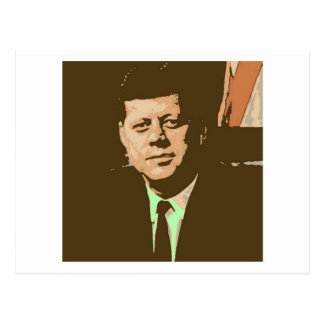John F Kennedy Postcard