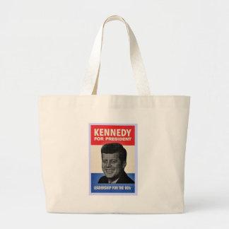 John F Kennedy Jumbo Tote Bag