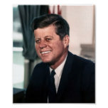 John F. Kennedy Whitehouse Portrait Posters