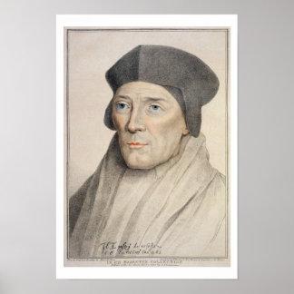 John Fisher, Bishop of Rochester (1469-1535) engra Poster