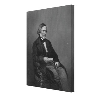 John Gibson Esq, from 'The Drawing Room Canvas Print