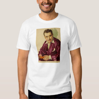 John Gilbert 1930 vintage portrait Tshirts