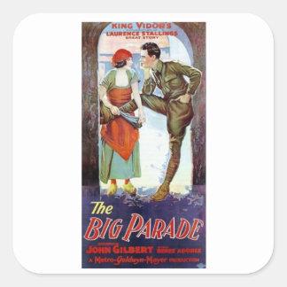 John Gilbert in The Big Parade Sticker
