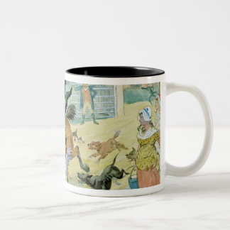 John Gilpin riding to Edmonton Two-Tone Coffee Mug