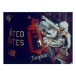 John Glenn Boards The Historic Friendship 7 Poster