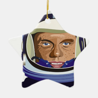 John Glenn Christmas Ornament