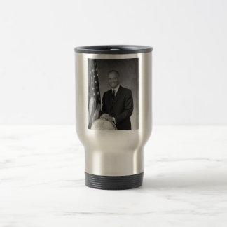 John Glenn 15 Oz Stainless Steel Travel Mug